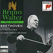 Bruno Walter Edition - Beethoven: Symphonies 3 & 8