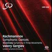 Rachmaninov: Symphonic Dances; Stravinsky: Symphony in Three Movements / Gergiev