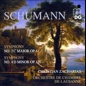 Schumann: Symphonies Nos. 2 & 4 / Christian Zacharias