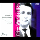 The Early Recordings of Fritz Wunderlich