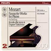 Mozart: Favourite Works for Piano / Alfred Brendel