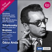 Tchaikovsky: Piano Concerto No. 1; Brahms: Piano Concerto No. 2 / Geza Anda, piano