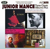 Junior Mance: Three Classic Albums Plus: Junior/The Soulful Piano of Junior Mance/At the Village Vanguard/Big Chief! *