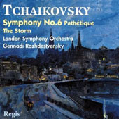Tchaikovsky: Symphony No. 6 Pathétique; The Storm
