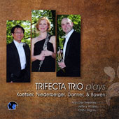 Trifecta Trio plays Koetsier, Niederberger, Danner & Bowen / Aryn Sweeney, oboe; Jeffery Whaley, horn; Chih-Long Hu, piano