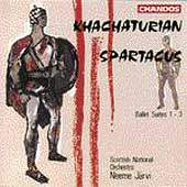 Khatchaturian: Spartacus Suites 1-3 / Järvi, Scottish NO