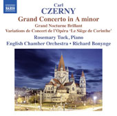 Carl Czerny (1791-1857): Grand Concerto in A minor; Grand Nocturne Brillant / Rosemary Tuck, piano; English Chamber Orchestra, Richard Bonynge