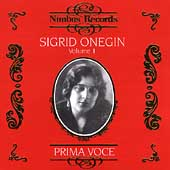 Prima Voce - Sigrid Onegin Vol 1 - Donizetti, Verdi, et al