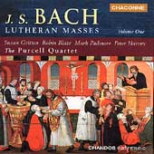 Bach: Lutheran Masses Vol 1 / Gritton, Blaze, Harvey, et al
