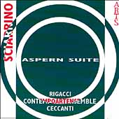Sciarrino: Aspern Suite / Ceccanti, Rigacci, et al