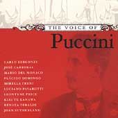 The Voice of Puccini / Bergonzi, Carreras, Del Monaco, et al