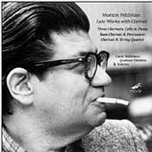 Feldman Edition Vol 7 - Works for Clarinet / Robinson, et al
