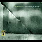 Echo 20/21  Ligeti: String Quartets, etc / Hagen Quartet