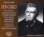 Verdi: Don Carlo / Previtali, Zampieri, Protti, Hines, et al