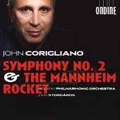 Corigliano: Symphony no 2, Mannheim Rocket /Storg&aring;rds, et al