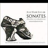 Leclair: Sonates / Santos, Santoro, Miranda