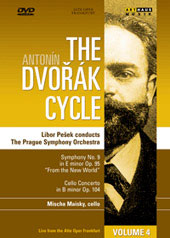The Dvorak Cycle, Vol. 4, Symphony 9 et al / Pesek/Prague SO, Maisky [DVD]