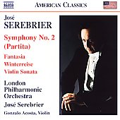 Serebrier: Symphony no 2, etc / José Serebrier, London PO