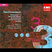 Rachmaninov: Symphonies no 1-3, Scherzo in D, Vocalise, etc