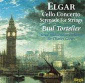 Elgar: Cello Concerto, Serenade for Strings;  Tchaikovsky, Dvorak / Tortelier, Groves, et al