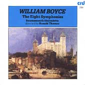 Boyce: Eight Symphonies / Thomas, Bournemouth Sinfonietta