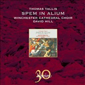 Thomas Tallis: Spem in Alium, The 40-part Motet and other music