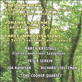 Webern & Brahms / Chamber works with clarinet / Stoltzman