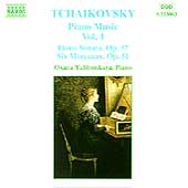 Tchaikovsky: Piano Music Vol 1 / Oxana Yablonskaya