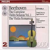 Beethoven: Complete Violin Sonatas Vol 1 / Szeryng, Haebler