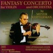 The Orchestral Music of Meyer Kupferman Vol 6