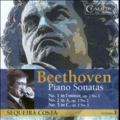 Beethoven: Piano Sonatas Vol. 1 / Sequeira Costa