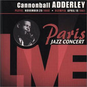 Cannonball Adderley: Paris Jazz Concert 1969