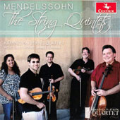 Mendelssohn: The String Quintets; Capriccio for String Quartet, Op. 81 / Harrington String Quartet; James Dunham, viola
