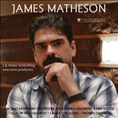 James Matheson (b.1970): String Quartet; Violin Concerto; Times Alone for voice & piano / Baird Dodge, violin; Laura Strickling, soprano; Thomas Sauer, piano. Chicago SO