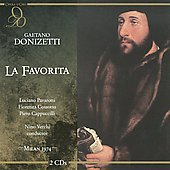 Donizetti: La Favorita / Pavarotti, Cossotto, Verchi, et al