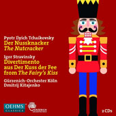 Tchaikovsky: The Nutcracker; Stravinsky: Divertimento from The Fairy's Kiss / Dmitrij Mitajenko, Gürzenich-Orchester Köln