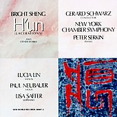 Sheng: H'Un, My Song, 3 Chinese Love Songs / Schwartz
