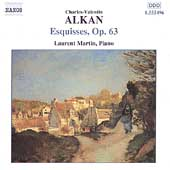 Alkan: Esquisses Op 63 / Laurent Martin