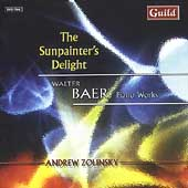 The Sunpainter's Delight - Baer: Piano Works / Zolinsky