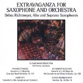 Extravaganza for Saxophone and Orchestra/ Richtmeyer, Trevor