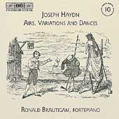 Haydn: Complete Keyboard Music Vol 10 / Brautigam, Petry