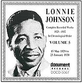Lonnie Johnson: Complete Recorded Works (1925-1932), Vol. 5: 1929-1930