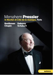 Menahem Pressler In Recital at Cite de la Musique, Paris [DVD]