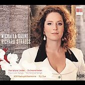 Strauss: Orchestral Songs / Kaune, NDR, et al