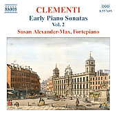Clementi: Early Piano Sonatas Vol 2 / Susan Alexander-Max