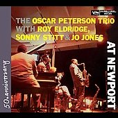 Oscar Peterson: Roy Eldridge, Sonny Stitt and Jo Jones at Newport
