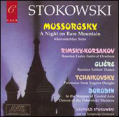 Mussorgsky, Borodin, Gli&#232;re, etc / Stokowski, et al