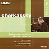 Beethoven, Gershwin: Piano Concertos / Cherkassky, et al