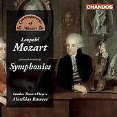 L. Mozart: Symphonies / M. Bamert, London Mozart Players