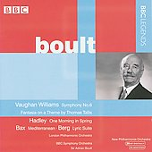 Boult Conducts Vaughan Williams, Hadley, Bax & Berg / Sir Adrian Boult
